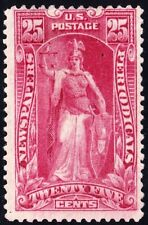 US STAMP BOB #PR118 25C 1895-97 Newspaper Periodicals Stamp UNUSE NG $7 crease