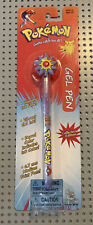 Vintage Pokemon Gel Pen ~ 1998 Nintendo ~ New In Pack Toy Island No. 66180