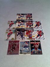 *****Martin Gendron*****  Lot of 70 cards.....14 DIFFERENT / Hockey