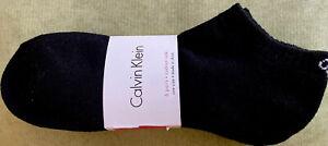 Calvin Klein 6-Pair Men's Low Cut Socks Cushion sole Black Size 7-12