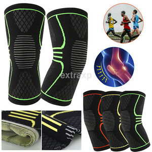 Useful Knee Compression Sleeve Support for Running Gym Sports Joint Pain Relief