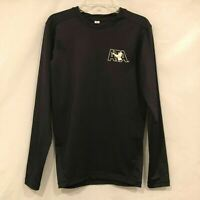 ATA Long Sleeve Shirt Boys Youth Size Medium Black Taekwondo Karate Gear