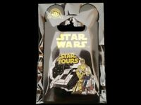 Disney Pin Disney Studios Star Wars Tours Attraction with C-3PO & R2D2