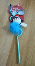 Pet Cat Toy Happy Meowlidays Chilly Chaser Wand Penguin New
