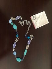 New Premier Jewelry Designs Blue Lagoon necklace blue silver aqua turquoise