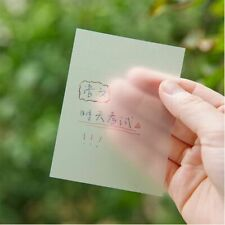 Memo Pads Sticky Notes Scrapes Stickers Sticky Transparent Simple Note Paper