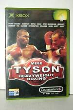 MIKE TYSON HEAVY WEIGHT BOXING USATO OTTIMO STATO XBOX ED ITALIANA PAL FR1 39055