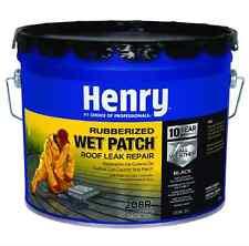 Roof Cement Premium Rubber Wet Patch 3.3 Gallon Waterproof Seal Leak Repair Rain