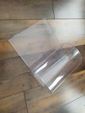"""Commercial Clear Plastic Vinyl Dog House Door Garage Door 8"""" x 24"""" x 80mil"""