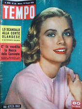 TEMPO n°26 1956 Grace Kelly di Monaco - Jackie Lane - Marilyn Monroe  [C86]