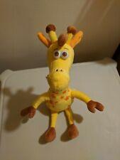 """Toys R Us Geoffrey Giraffe Plush Stuffed Animal 13"""" Tall + 4"""" Legs"""