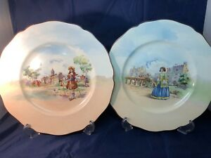 CHOICE OF ROYAL DOULTON SERIESWARE FROM THE HISTORIC ENGLAND SERIES C.1938 (2)