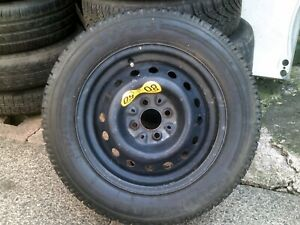 """MGF, TF 14"""" Steel Wheel & Goodyear Tyre 175/65/14, 4 x 95.25, 96- 05 Ideal Spare"""
