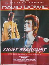 ZIGGY STARDUST French 47x63 movie poster David BOWIE Top condition