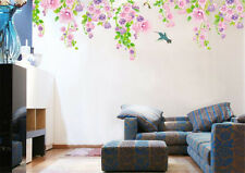 Spring Flower Bird Home Bedroom Decor Removable Wall Stickers Decal Decorations