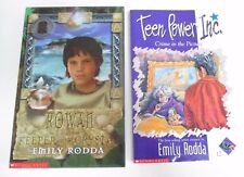 Emily Rodda Books - 'Rowan & the Keeper of the Crystal' & 'Crime in the Picture'