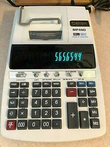 Canon MP49D Calculator 14 Digits, Clock and Calendar, 2 Color Print