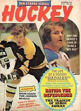 1972 (Dec.) Ben Strong Series Hockey magazine, Bobby Orr, Boston Bruins ~ Gd