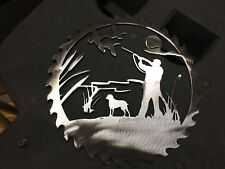Plasma cut duck hunting cut out Metal Wall Art Home Decor