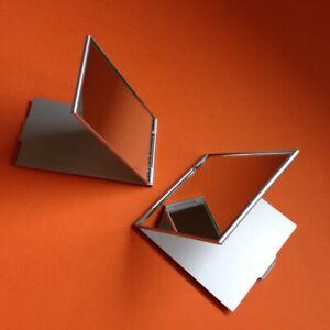 Compact Slim Lightweight Mirror - makeup cosmetics travel portable pocket size