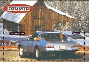 VINTAGE CLASSICS - Sierra Leone 2146B - Ferrari 330 GTC - Souvenir Sheet - MNH