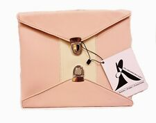 Clutch Ashard Richley Purse Women Handbags Pink Medium Size Double Lock New