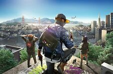 """Watch Dogs 2 Hot New Game Art 2016 21""""x14"""" Poster"""
