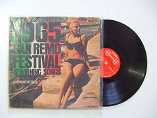 1965 San Remo Festival 12 Winning Songs - Disco 33 Giri LP Compilation USA 1966
