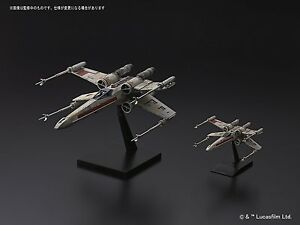 Rogue One red squadron Star Wars X-wing Starfigter 1/72 + 1/144 two model set
