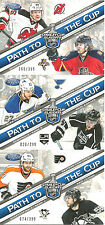 2012-13 CERTIFIED PATH TO THE CUP ALEX PIETRANGELO ANZE KOPITAR SP PARALLEL /299