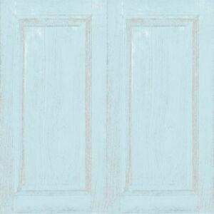 5409 - Little Explorers Wooden Dado Panels Blue Galerie Wallpaper