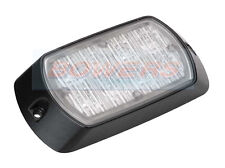 Britax L95.00 Dual V REG 65 LED lighthead de advertencia color ámbar intermitente de montaje en superficie