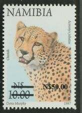 More details for namibia $50 on $10 cheetah 1997 sg1007