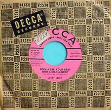 JERRY LEWIS - ROCK A BYE YOUR BABY..- DECCA  - PROMO 45