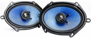 Hifonics Alpha 5x7 / 6x8 inch 2-way coaxial car speakers Quality Clear Sound !