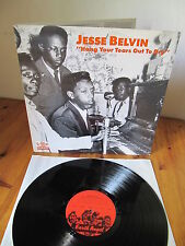 Jesse Belvin Hang your tears out to dry foc M-/M- ! Vinyl LP sauber clean