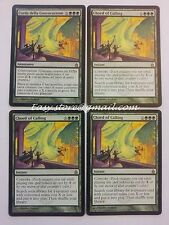 SET 4X CORDA DELLA CONVOCAZIONE - CHORD OF CALLING  EX-  - MTG MAGIC