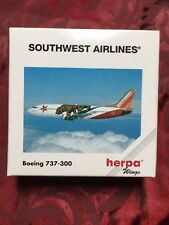 Boeing 737-300 - 1:500 Aircraft Model-Southwest Airlines-Herpa Wings - 500524