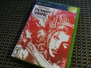 Demon Stone (Original Xbox Video Game) Complete, Black Label