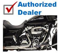Bassani 2x2 Dual Headpipes Header Pipes Exhaust Harley 2017-2020 Touring Bagger