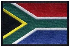 2 pcs SOUTH AFRICAN Flag Embroidered Iron on Patches - SOUTH AFRICA
