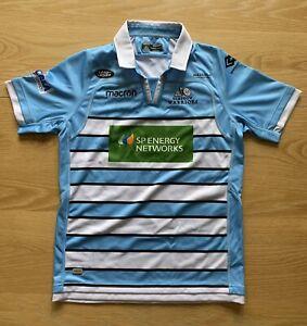 Macron Glasgow Warriors 2018/19 Alternate S/S Replica Shirt - Size JR XL