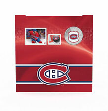 2014 Canada NHL COIN AND STAMP GIFT SET - Montreal Canadiens, 25 Cent Colorized
