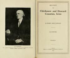 1919 CHICKASAW & HOWARD County Iowa IA, History and Genealogy Ancestry DVD B38