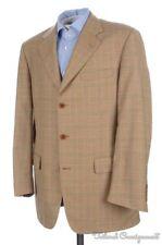 BROOKS BROTHERS GOLDEN FLEECE Plaid Check POW  Wool Blazer Sport Coat - 41 R