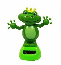 HAAC solar Wackelfrosch Frosch Farbe grün 12 Cm