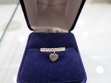 Alliance or blanc et diamants /wedding ring with diamond