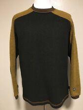 Kuhl Alf Alfpaca Fleece Long Sleeve Pullover Sweater Men's Size Large