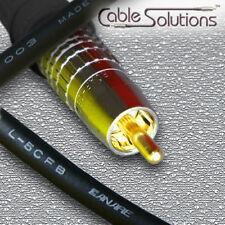 Canare L-5CFB Coaxial Digital Audio Interconnect Cable 1m