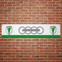 Audi Sport Banner Garage Officer PVC Signo Trackside Motorsport Auto Size:1300mm by 300mm